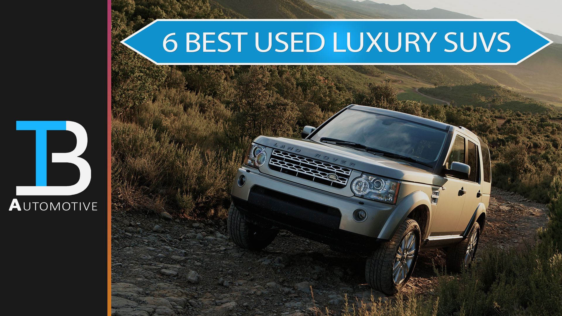 6 best used luxury suvs you can buy for under 40 000. Black Bedroom Furniture Sets. Home Design Ideas
