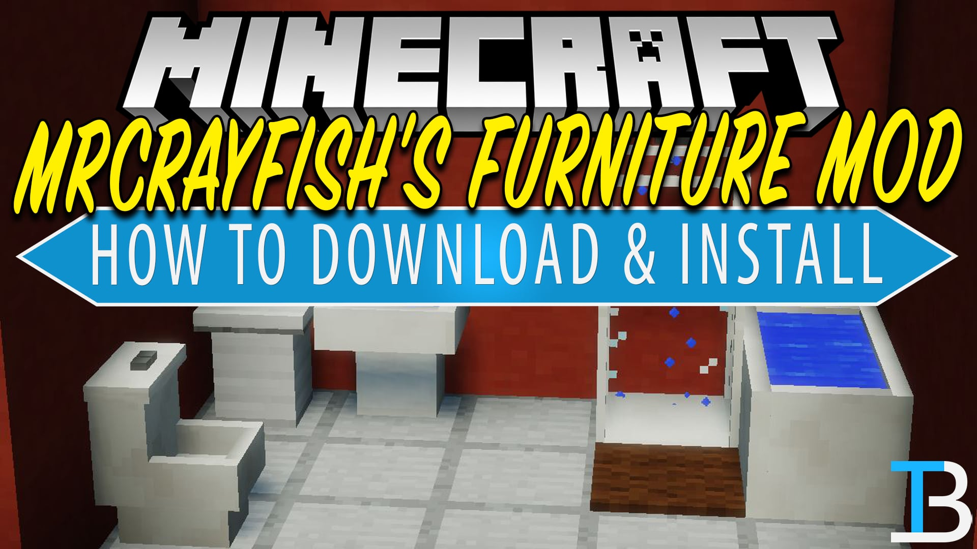How To Download Install MrCrayfish s Furniture Mod in Minecraft